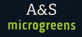 A&S Microgreens Logo